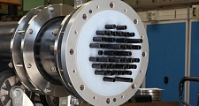 Wide range of silicon carbide shell & tube heat exchangers