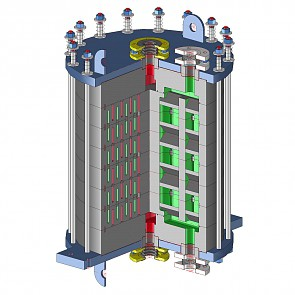 Graphite heat exchangers
