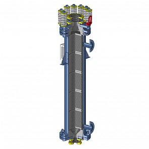 Graphite block heat exchangers