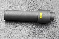 Graphite steam jet ejector