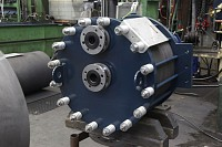 Small impervious graphite heat exchanger