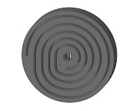 Annular groove graphite disc