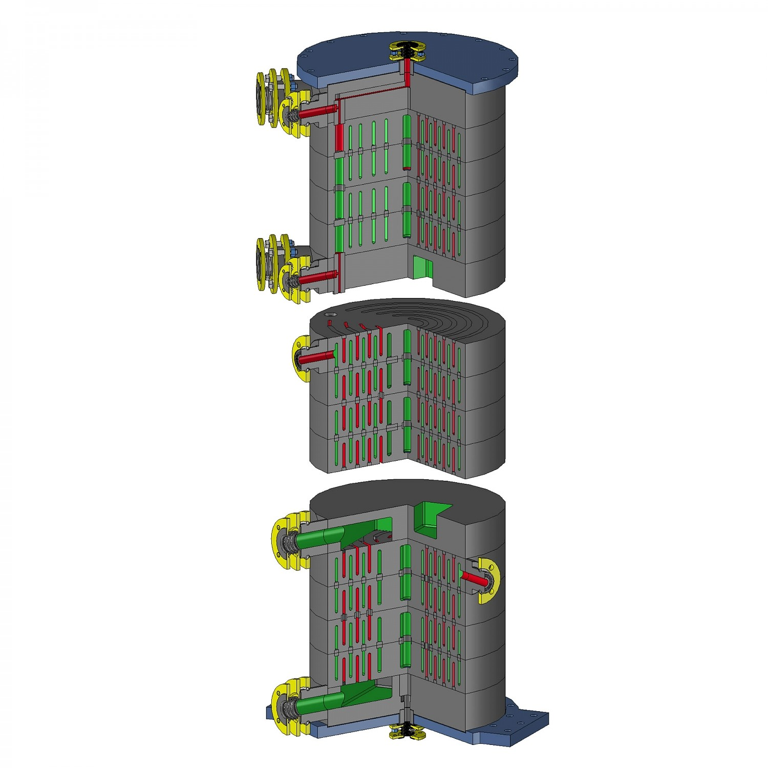 Custom-made graphite heat exchangers - GAB Neumann