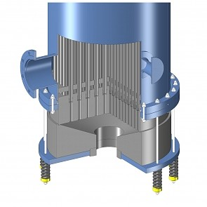 Graphite shell and tube heat exchangers