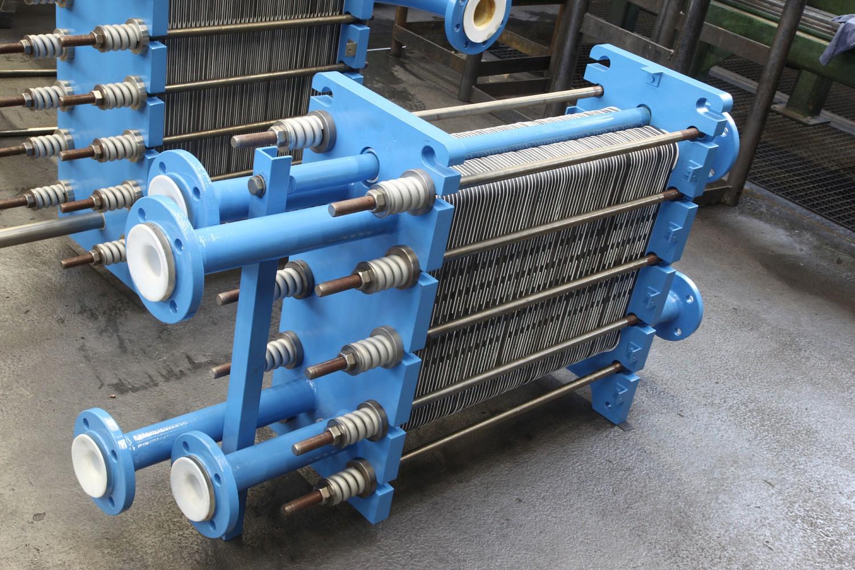 Silicon carbide plate heat exchangers - GAB Neumann